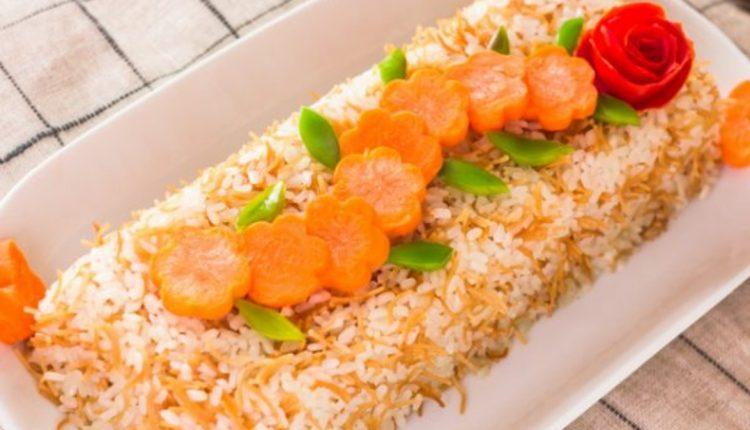 طريقة عمل الأرز بالشعرية