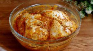 دجاج مشوي بالبطاطس في الفرن
