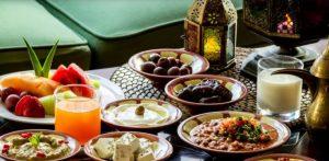 منيو يوم 1 رمضان 2021