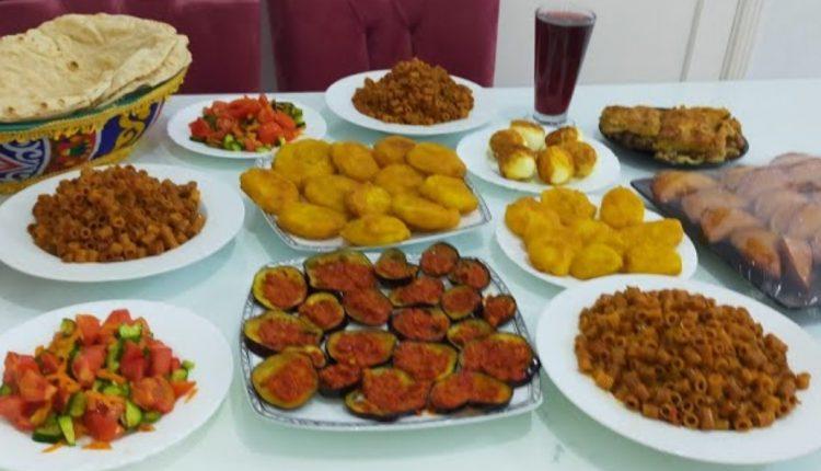 منيو يوم 9 رمضان 2021