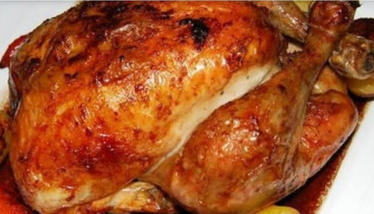 طريقة الدجاج المشوي بالكيس الحراري