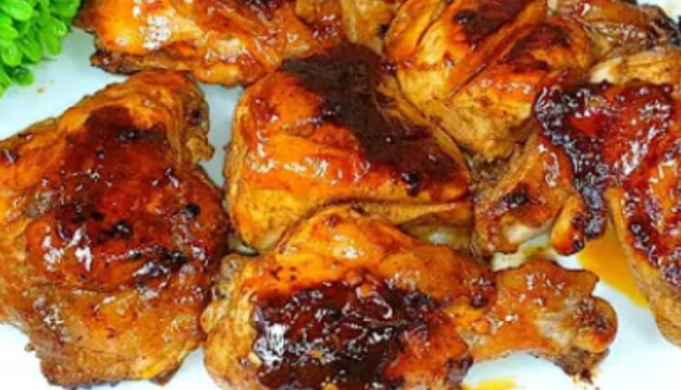 طريقة الدجاج المشوي بدون فرن
