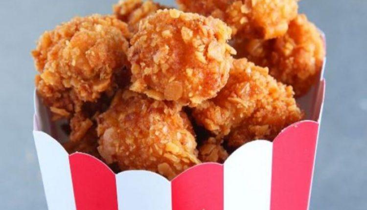 طريقة عمل بوب كورن الدجاج